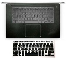Keyboard skin +2pack Palmrest Cover for Dell XPS 15-9550 Precision 15-5510 M5510