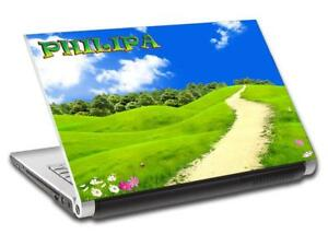 Green Hill Road Personalized LAPTOP Skin Decal Vinyl Sticker NAME Nature L576