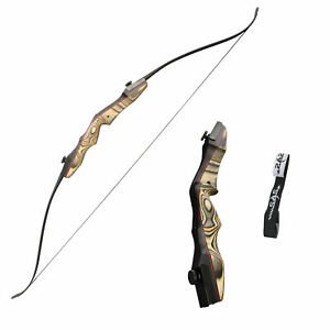 "SAS Sage Premier 62"" Takedown Recurve Bow with Stringer FF Compatible Archery"