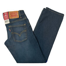 Levis Levi Strauss 511 Slim Boys 8 Reg W24 L25 Blue Jeans Adjustable Waistband