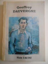 Catalogue raisonné de l'oeuvre de GEOFFROY DAUVERGNE ( 1922 - 1977 .)