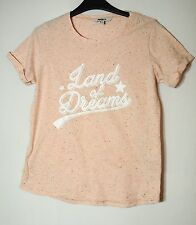 PALE PINK LADIES CASUAL TOP T-SHIRT SIZE 12 PEPCO