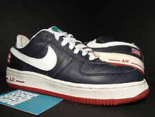 02 Nike Air Force 1 PR3 PUERTO RICO III 3 OBSIDIAN BLUE WHITE RED GREEN 4.5Y 4.5