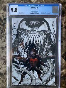 Venom #26 CGC 9.8 Tyler Kirkham B&W Color Splash Virgin 1st Virus Appearance