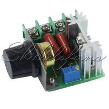 AC 50-220V 25A 2000W Adjustable PWM Motor Speed Controller Voltage Regulator Hot