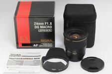 【Mint】Sigma AF 24mm f1.8 EX DG Macro Lens 24/1.8 Canon EF from Japan 1590