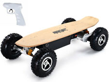 MotoTec 1600w Dirt Electric Skateboard DUAL MOTOR Auto Off Air Tires Wireless