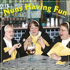 Nuns Having Fun Wall Calendar 2020, Kelly, Stone 9781523506057 Free Shipping..