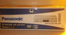 Panasonic DVD VCR VHS Player Recorder HI FI Stereo PV-D4734S w/ Remote & Manuel