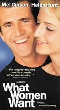 What Women Want (VHS) Mel Gibson, Helen Hunt WE COMBINE SHIPPING IN THE U.S.!