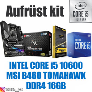 🅸🅽🆃🅴🅻 Core i5 10600 ● MSI B460 Mainboard ● 16GB RAM ● Intel PC Bundle Kit