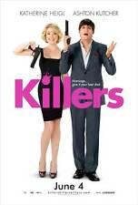 KILLERS Movie POSTER 27x40 C Katherine Heigl Ashton Kutcher Catherine O'Hara Tom