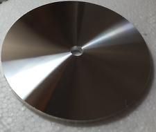 "8""x1/2"" Precision Lapidary Glass Flat Grinder Aluminium Back Plate Master Laps"