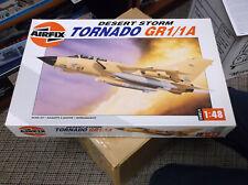 AIRFIX DESERT STORM TORNADO GR1/ 1A MODEL PLANE 1: 48 HUMBROL PRODUCT #09177