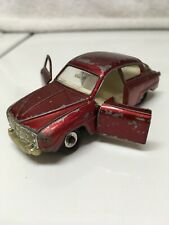 Dinky Toys Saab 96 No.156R 1966 Red Made in United Kingdom