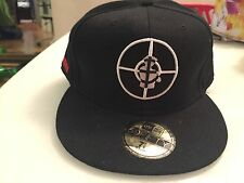"Supreme Public Enemy New Era 59FIFTY ""Fight the Power"" Collab hat/Cap 7 7/8 63CM"