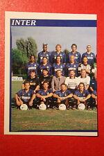 Panini Calciatori 1998/99 n. 117 INTER SQUADRA DA EDICOLA