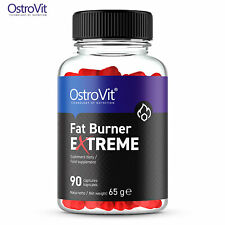 OstroVit Fat Burner eXtreme 90 Capsules - Inhibits Appetite - Weight & Fat Loss