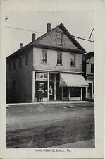 Post Office Dallas PA handsome vintage postcard not postally used