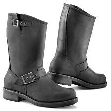 TCX Mens Heritage WP Waterproof Motorcycle Boots Black - 10 /EU 44