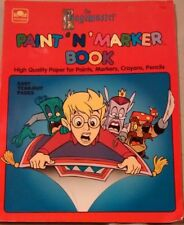 The Pagemaster paint n marker coloring book 1995 golden unused