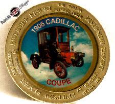 "$1 BRASS SLOT COLOR TOKEN RIVERSIDE CASINO ""1906 CADILLAC"" 1996 NCM LAUGHLIN NV"