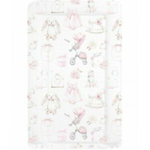 NEW Molly Doo UK Made Baby Girls Home Changing Mat Pink Vintage Nursery Design