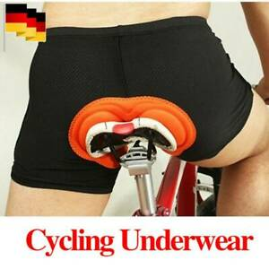 Männer Damen Fahrrad Radlerhose Unterhose Gel 3D Gepolstert Fahrrad Unterwäsche