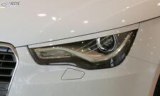 RDX Scheinwerferblenden für AUDI A1 8X / 8XA (-2015) Böser Blick Blenden Spoiler