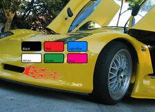 2 X FLAMME 117 Fire Sport drift tuning Vinyle JDM WV Autocollant Art Autocollant Voiture de course