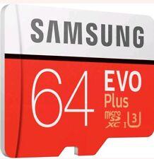 Tarjeta de memoria  64 GB Samsung Evo Plus  micro sdxc clase 10 U3