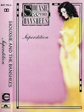 Siouxsie & The Banshees ‎Superstition CASSETTE ALBUM New Wave, Goth Rock