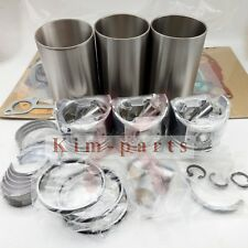 New Overhaul Engine Rebuild & Cylinder Liner Kit for Yanmar 3T84 Engine Parts