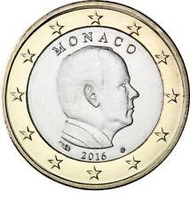 Monaco 1 euro 2016 Unc-Prins albert - Zo Uit de rol!