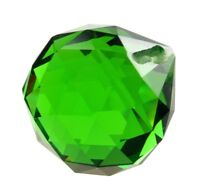 40mm Green Chandelier Crystals Ball Prism Suncatcher