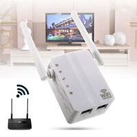 300Mbps Wireless Extender WiFi Repeater Signal Booster Network Router EU Plug