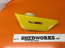 Yamaha TY250 TY 250 Trials Genuine Style side panel yellow
