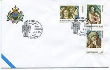 1995-06-04 San Marino Il tesoro di domagnano i goti a S.Marino ANNULLO SPECIALE