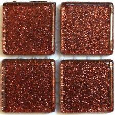 49 Glitter Mosaic Tiles 20mm - Molasses