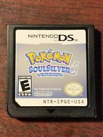Pokemon: SoulSilver Version Nintendo DS - Cartridge Only - Authentic - Tested