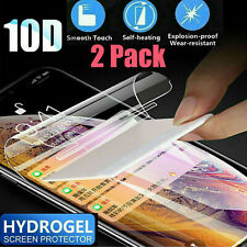 [2PK] For Samsung Galaxy A20 A50 A70 51 Full Cover Hydrogel TPU Screen Protector