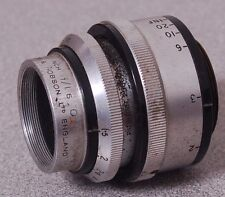 "Taylor & Hobson Cooke Kinic f1.5 1"" Inch O Coated Cine Movie Camera Lens 0030"