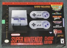 SNES Classic Mini Edition - Super Nintendo Entertainment System - Brand New!