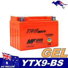 YTX9-BS GEL Battery Honda TR200 CBR600/900 VT600 XR650L RVF750R RC30/45 NT/X650