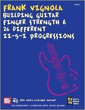 Frank Vignola-Edificio Guitarra Dedo Fuerza