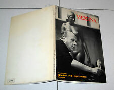 Francesco MESSINA Galleria Quaglino Incontri Torino 1 ed 1971 Copia numerata