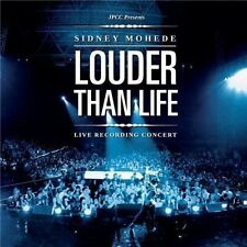 Sidney Mohede : Louder Than Life CD Live Recording Concert Brand New
