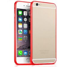 BUMPER PARA IPHONE 6 PLUS 5.5 ALUMINIO ROJO RED FUNDA CARCASA ALUMINIUM METAL