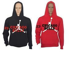 FELPA UOMO CHICAGO BULLS 23 CON CAPPUCCIO FELPATA xs s m l xl xxl vari colori