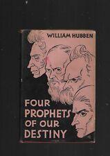 Four prophets of our destiny Kierkegaard Dostoevsky Nietzsche Kafka W Hubben 19